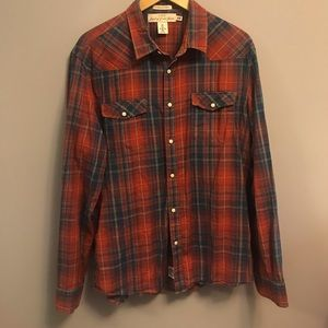2 for $40 | H&M | Mens | Plaid Western Shirt